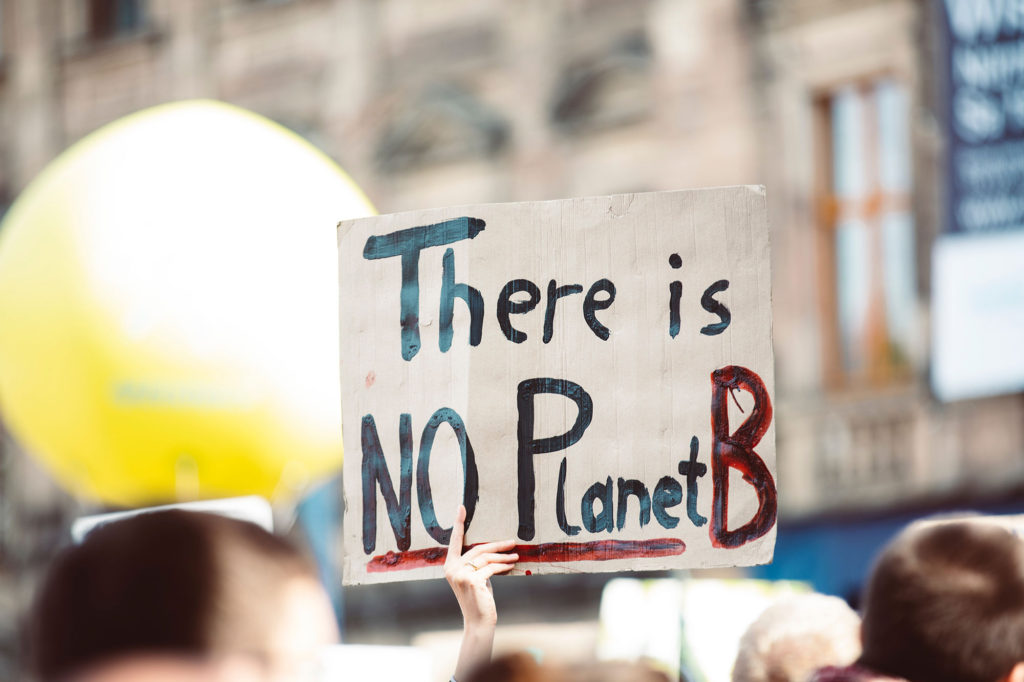 There is no Planet B, we need a new business as usual